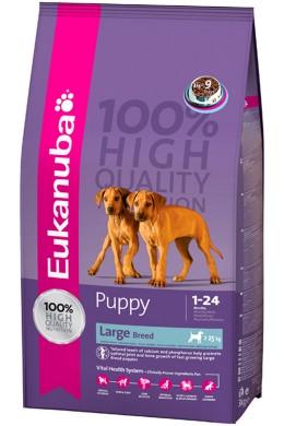 Сухой корм Eukanuba Puppy&Junior Large Breed для щенков крупных и гигантских пород
