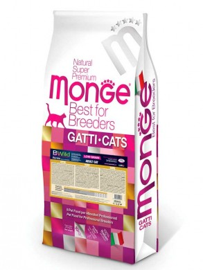 Корм Monge Bwild Cat Hare для взрослых кошек с мясом зайца (1,5 кг)