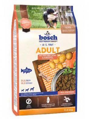 Сухой корм Bosch Adult Salmon & Potato для взрослых собак