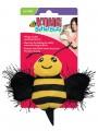 Игрушка для кошек KONG Better Buzz Пчела, хрустит, с кошачьей мятой