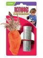 Игрушка для кошек KONG  Морковь плюш с тубом кошачьей мяты 15 см