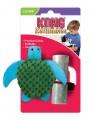 Игрушка для кошек KONG Черепашка 9 см с тубом кошачьей мяты