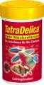 Натуральная подкормка TetraDelica Bloodworms сублимированный мотыль 100 мл