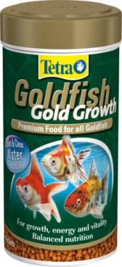 TetraGoldfish Gold Growth корм в шариках для лучшего роста золотых рыб 250 мл