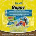 TetraGuppy корм в хлопьях для гуппи 12 г (sachet)