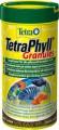 Корм TetraPhyll Granules для всех видов рыб растительные гранулы (250 мл)