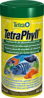 TetraPhyll корм для всех видов рыб растительные хлопья 250 мл
