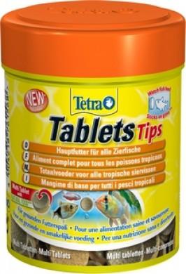 TetraTabletsTips корм в таблетках для приклеивания к стеклу 165 таб.