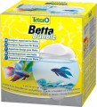 Аквариум-шар Tetra Betta Bubble для петушков с освещением, белый (1,8 л)