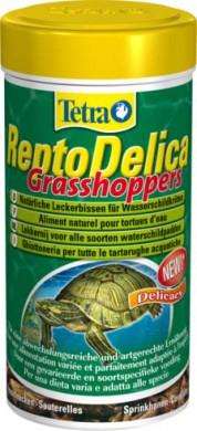 Tetra ReptoDelica Grasshoppers лакомство для водных черепах (кузнечики) 250 мл