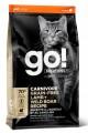 Беззерновой корм GO! Natural holistic, GO! CARNIVORE GF Lamb + Wild Boar для котят и кошек с ягненком и мясом дикого кабана