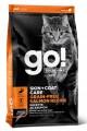 Беззерновой корм GO! Skin + Coat для котят и кошек с лососем