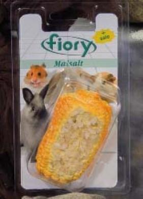 Био-камень для грызунов Fiory Maisalt с солью в форме кукурузы 90 г