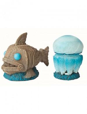 Декорация Медуза + Механическая рыба