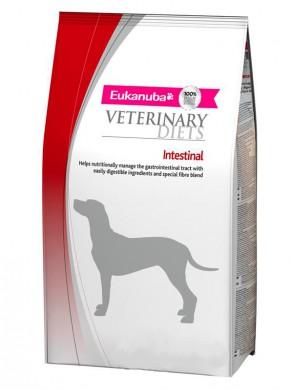 Диетический корм Eukanuba Intestinal для взрослых собак с заболеваниями желудочно-кишечного тракта (12 кг)