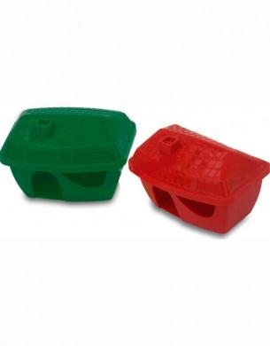 Домик для грызунов пластмассовый