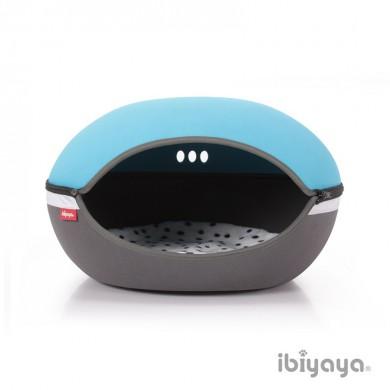Домик Ibiyaya Little Arena для кошек и собак голубой