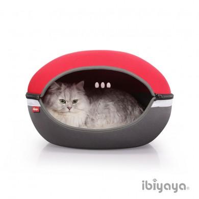 Домик Ibiyaya Little Arena для кошек и собак красный
