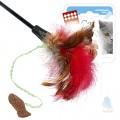 Дразнилка для кошек GiGwi с рыбкой на длинной палке