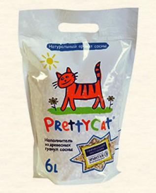 Древесный наполнитель Pretty Cat Wood Granules 2 кг (6л)