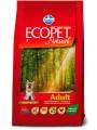 Корм Ecopet Natural Adult Mini для взрослых собак мелких пород (12кг)