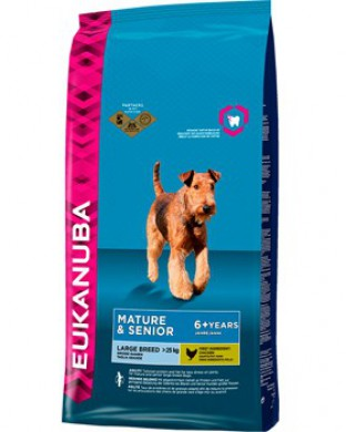 Eukanuba Mature & Senior Large Breed для крупных пород