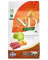Корм Farmina N&D Cat Grain Free Pumpkin Venison для кошек с олениной, тыквой и яблоком