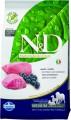 Беззерновой корм Farmina N&D Lamb & Blueberry Adult для взрослых собак с ягненком и голубикой