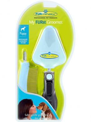 Furminator My Furst Groomer набор для щенка (сликер+расческа)