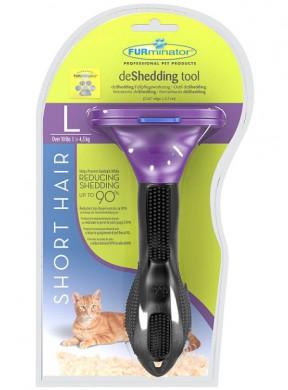Furminator Short Hair Large Cat для больших короткошерстных пород кошек 7 см
