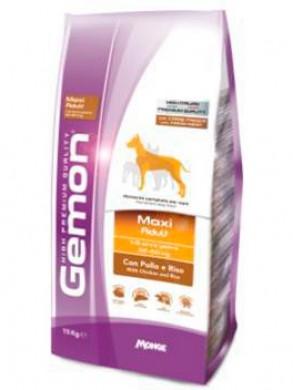 Корм Gemon Dog Adult Maxi для взрослых собак крупных пород с курицей