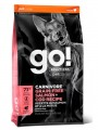 Беззерновой корм GO! Solutions Carnivore Grain-Free Salmon + Cod Recipe с Лососем и Треской
