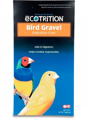 Гравий для заполнения зоба птиц 8in1 Bird Gravel для канареек и амадин 680 г