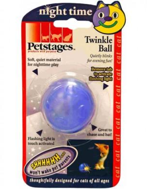 Игрушка для кошек ОРКА мяч - мигающий