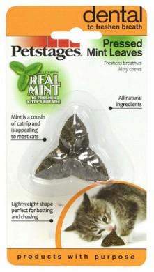 Игрушка для кошек Petstages Листик из прессованных листьев кошачьей мяты