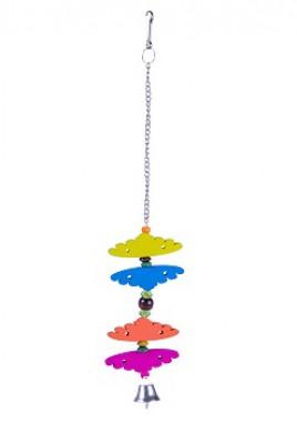 Игрушка для птиц Бабочки цветные 990410\006