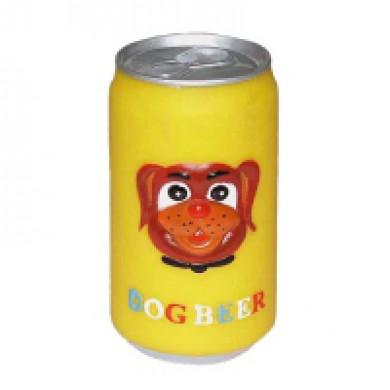 """Игрушка для собак """"Банка пива"""", винил"""