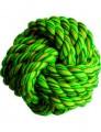 """Игрушка для собак """"Мяч плетеный"""" малый цветной"""