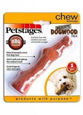 Игрушка для собак Petstages Mesquite Dogwood с ароматом барбекю маленькая (16 см)