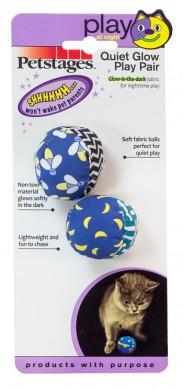 Игрушка для кошек Petstages Мяч текстиль 2 шт