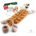 Игрушка для собак GiGwi Обезьяна с 19-ю пищалками 34 см