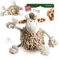 Игрушка для собак GiGwi Жираф с теннисным мячом внутри тела 20 см