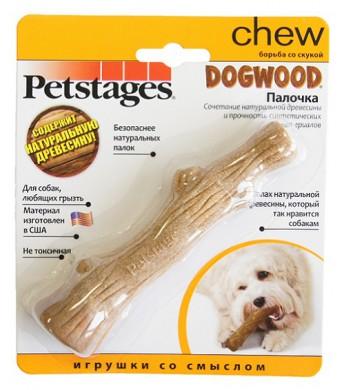 Игрушка для собак Petstages Dogwood палочка деревянная малая