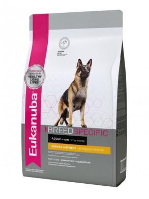 Сухой корм Eukanuba German Shepherd для собак породы Немецкая Овчарка