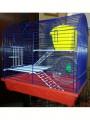 Клетка для грызунов полукруглая  2-х этажная, комплект