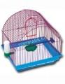 Клетка для птиц большая полукруглая комплект