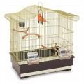 Клетка для птиц Imac Serena, золото (50х30х50 см)