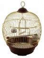 Клетка Triol 23BG для птиц круглая, золото, d230*365мм