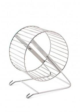 Колесо для грызунов металлическое 14см (3145)