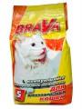 Комкующийся наполнитель Брава для длинношерстных кошек (5л)
